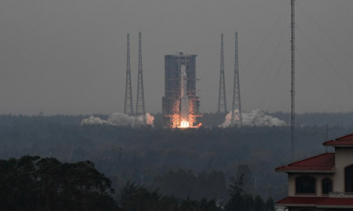 China successfully test launches the new Long March 8